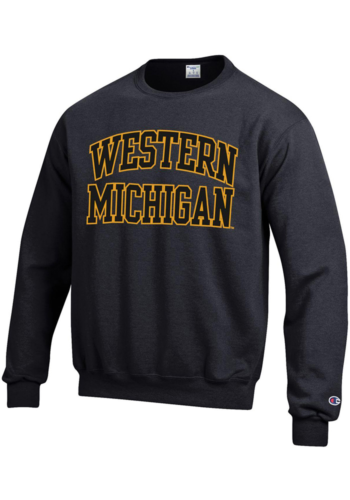 Champion Western Michigan Broncos Black Arch Sweatshirt