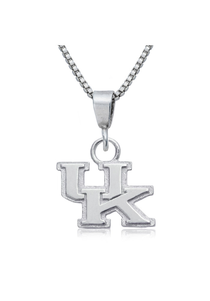 Kentucky Wildcats Silver Charm Necklace
