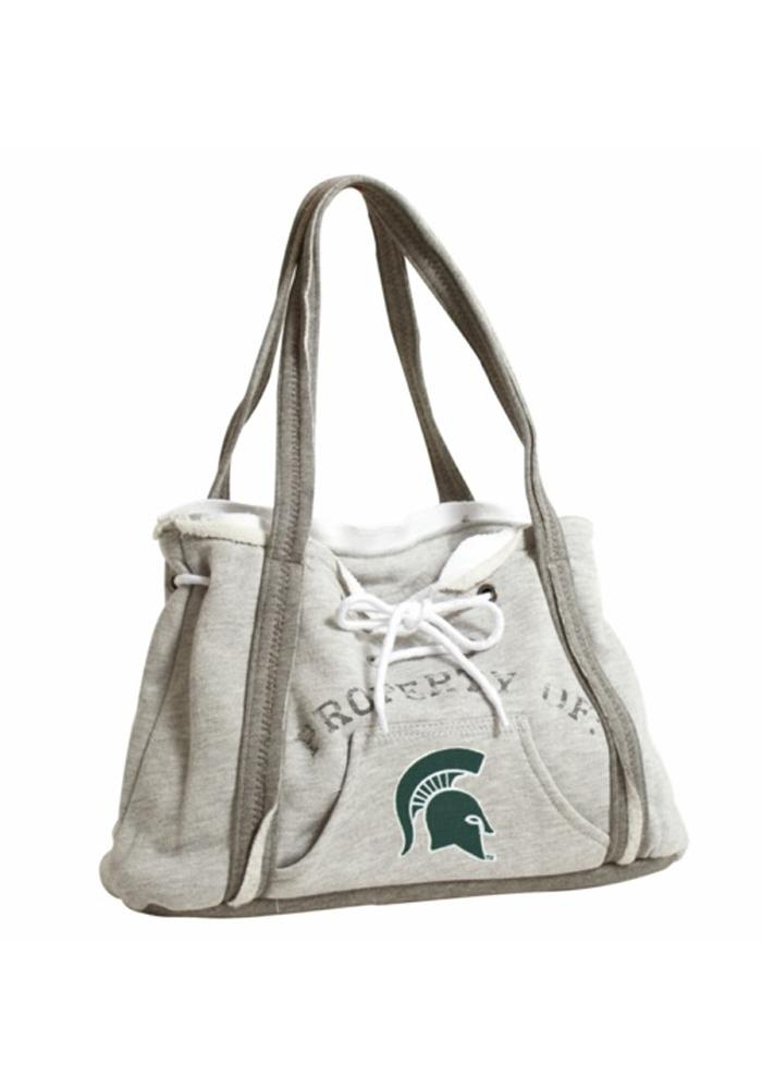 Michigan State Spartans Hoodie Womens Purse, Green (10420197-NA 150404-MIST-GREY) photo