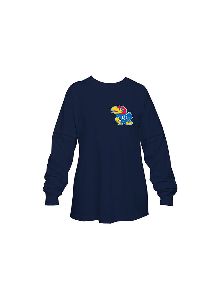 Just My Size Long-sleeve Scoop-neck 100% Cotton Womens Tee Oj288