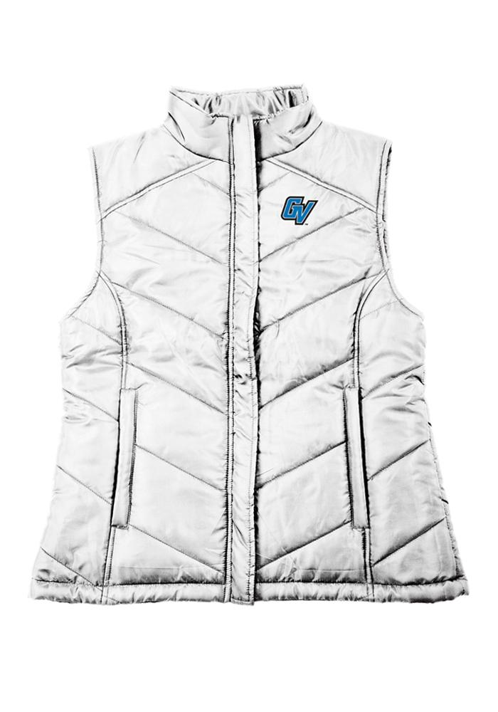 Grand Valley State Lakers Womens White Nylon Vest