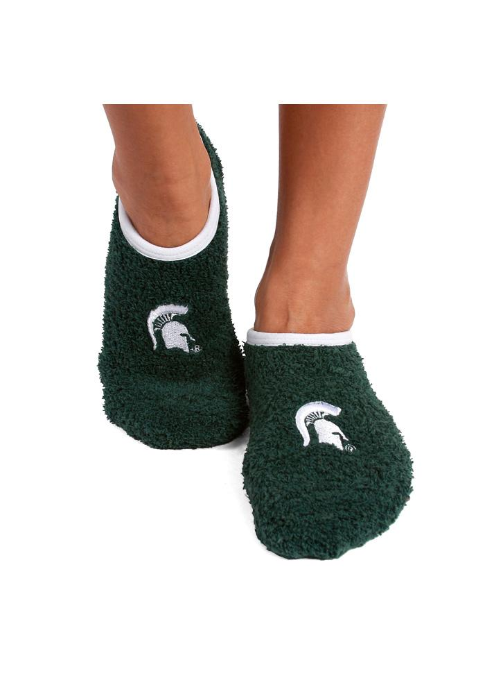 Michigan State Spartans Foot-z Womens No Show Socks