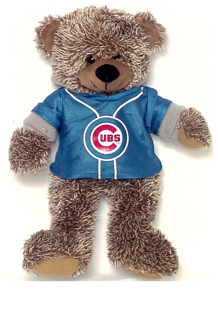 Chicago Cubs 14 Inch Sweater Hoodie Plush