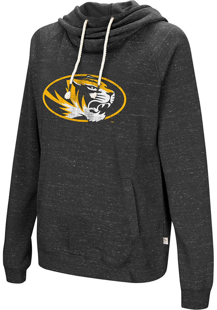 Colosseum Missouri Tigers Womens Black I'll Go With Hoodie
