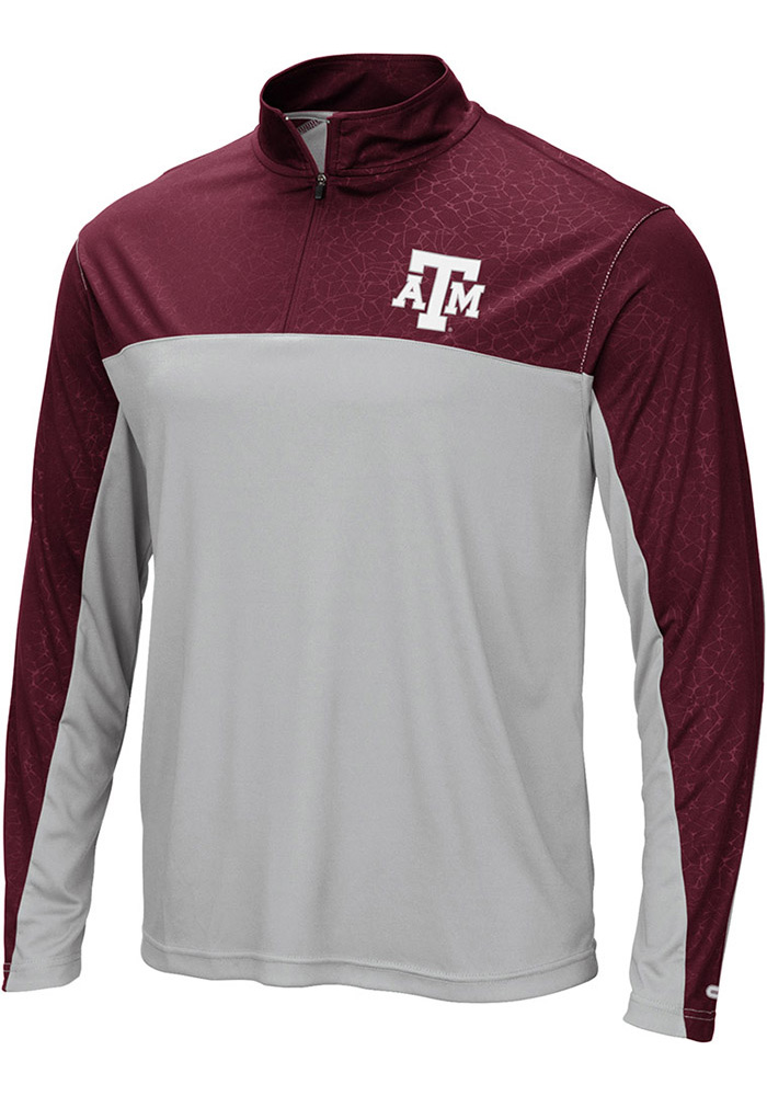 Colosseum Texas A&M Aggies Luge 1/4 Zip Pullover