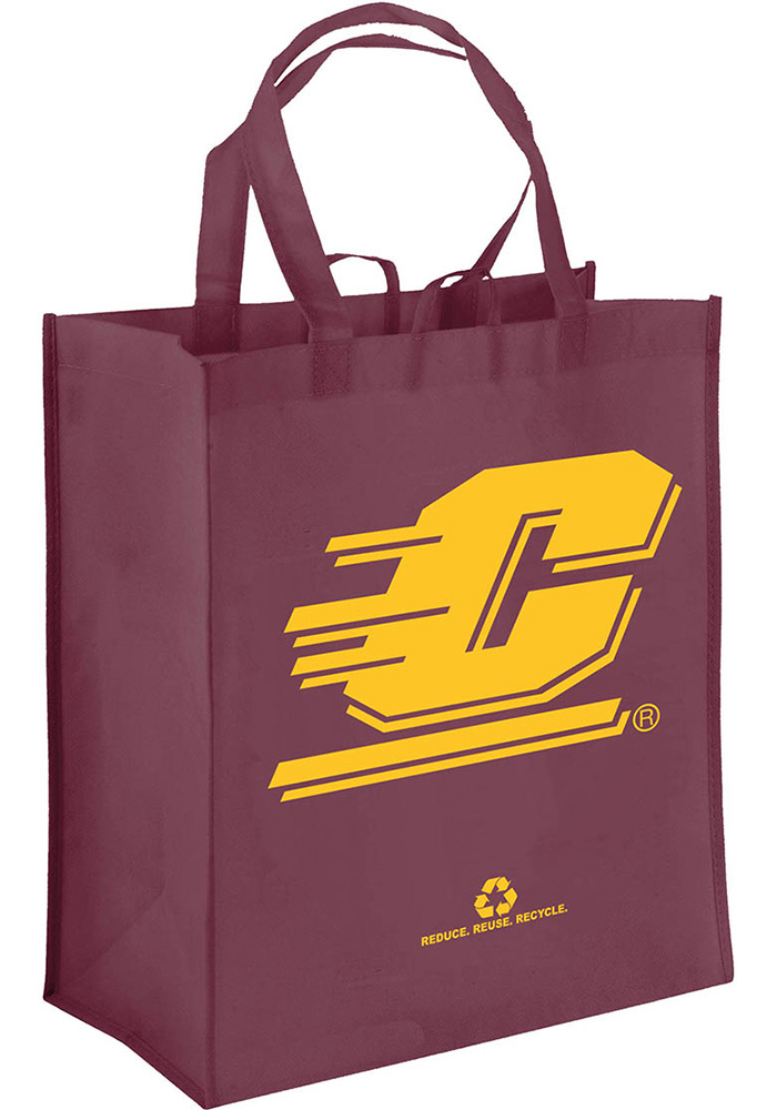 Central Michigan Chippewas Team Logo Reusable Bag