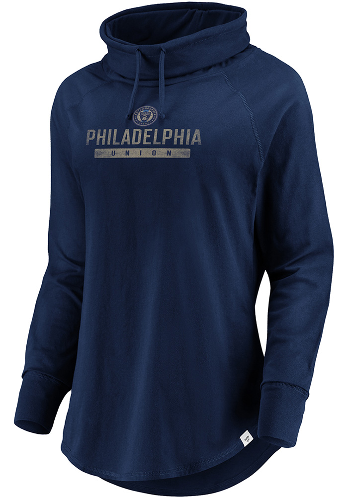 Philadelphia Union Womens Be A Pro Navy Blue Crew Sweatshirt